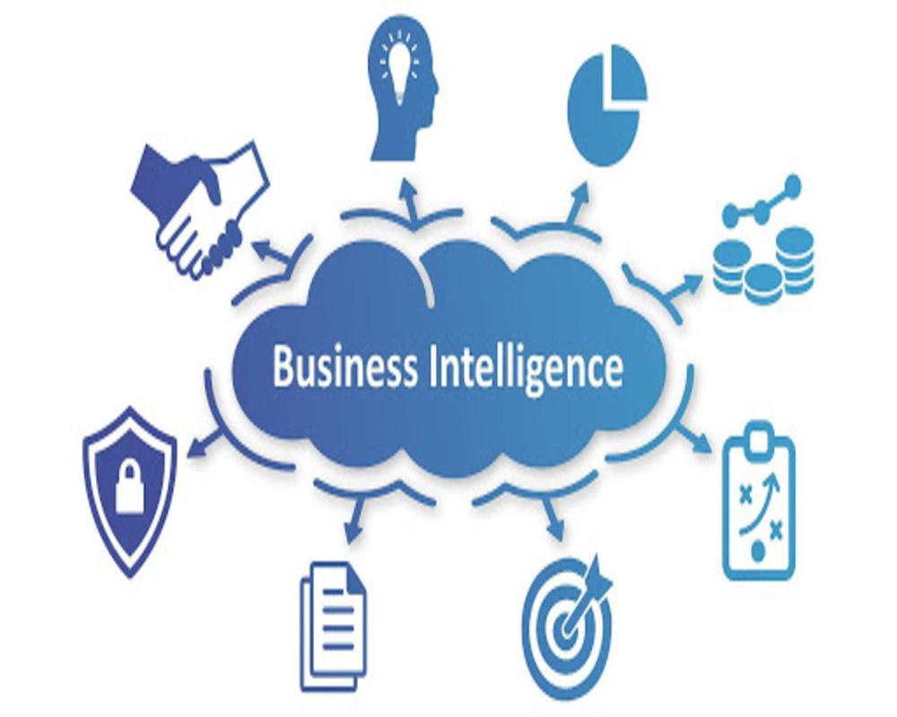 Business intelligence power bi talend tableau qlick